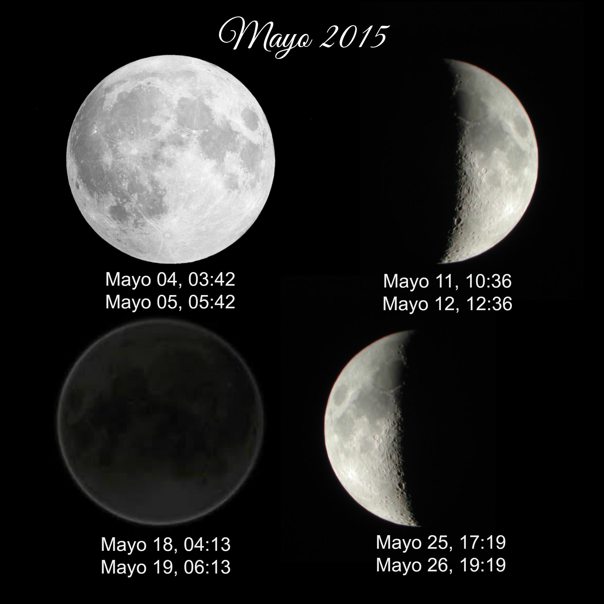 Las fechas importantes del mes de mayo 2015: La luna llena de buda ...